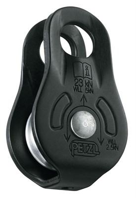 PETZL Блок FIXE (чёрный). Цвет чёрный (верёвка 7-13мм) - фото 4944