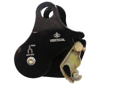 VERTICAL Блок- ролик с зажимом (сталь) - фото 5226