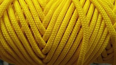 ШНУР 05 - Шнур ПА плетеный 16-ти пр. с ПА серд. ⌀ 5 мм - фото 5347
