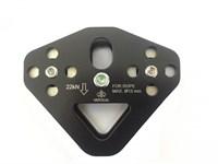 VERTICAL Блок-ролик «Тандем» Sturdy (стальной) с подшипником, ролик нерж с повышенной твердостью