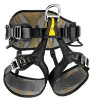 PETZL Привязь страховочная AVAO Sit Fast C079BA02 (Черный/желтый,  Размер: 2)