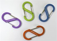 VERTICAL Сувенирный карабин  S-образный (зеленый, оранжевый, фиолетовый, синий)
